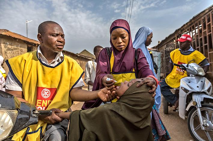 End Polio Now -gaala ja muut poliopäivän tapahtumat
