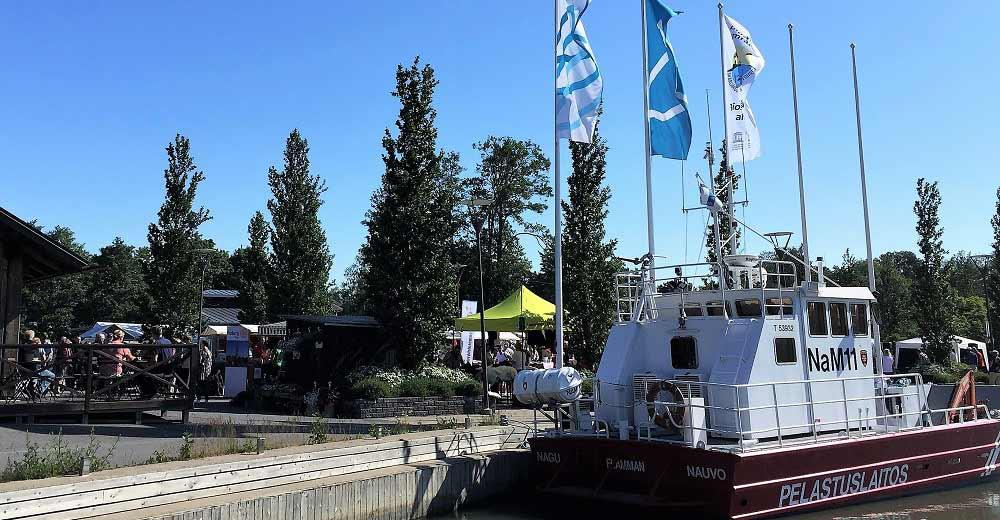 Potatisfestivalen 2019 i Nagu De Vita Päron